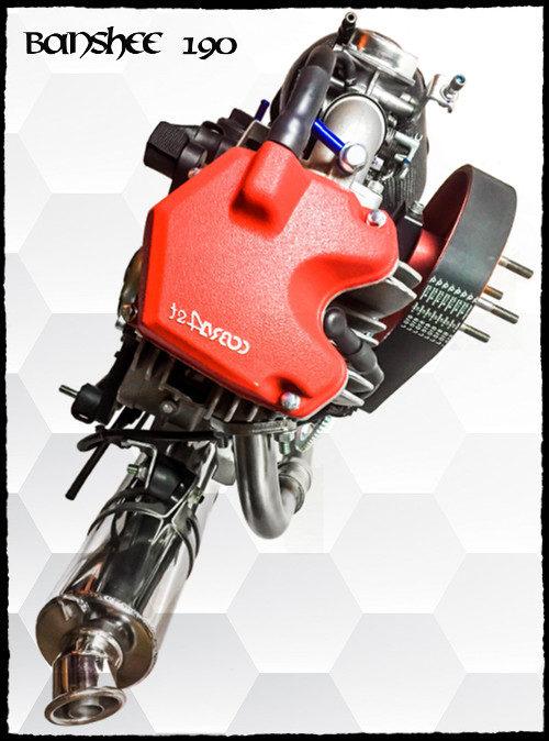 BlackHawk Banshee 190 Paramotor Buy Now 4 Stroke Online
