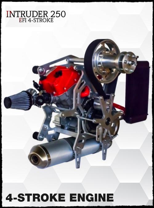BlackHawk INTRUDER 250 EFI 4-Stroke Paramotor