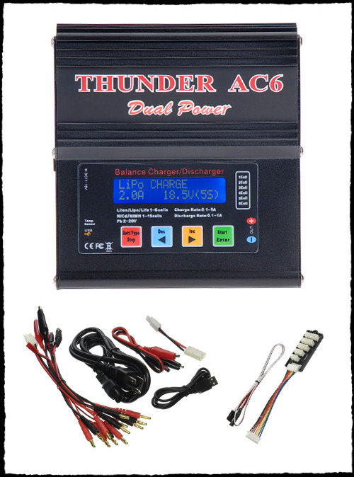 Thunder AC6 Battery Charger Electric Paramotor Powered Paragliding