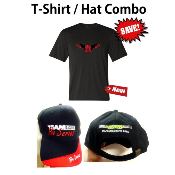 BlackHawk Paramotor Powered Paragliding T-Shirts