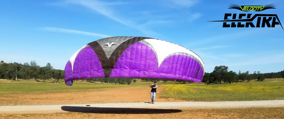 The Elektra by Velocity Paragliders USA