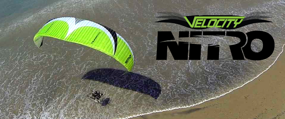 Velocity Nitro Paraglider Buy Online BlackHawk Store
