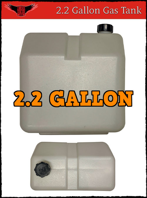 2.2 Gallon Gas Tank BlackHawk Paramotors USA