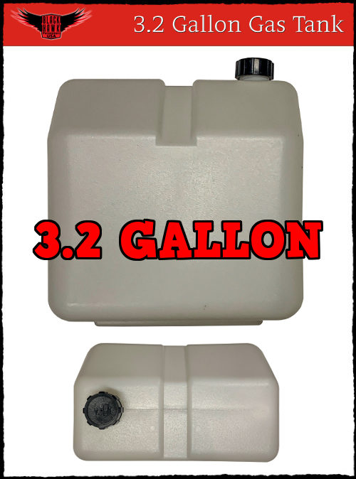 3.2 Gallon Gas Tank BlackHawk Paramotors USA