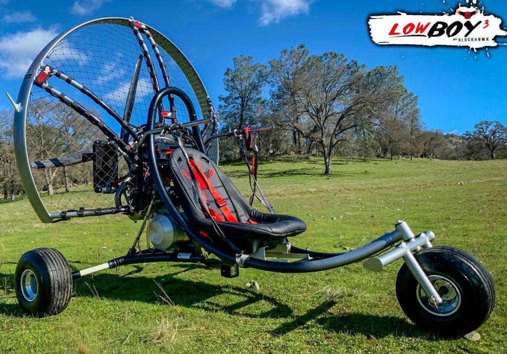 BlackHawk Paramotor LowBoy III