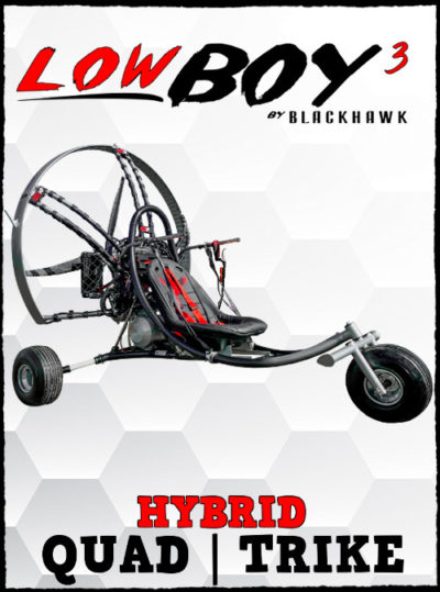 BlackHawk Paramotor LowBoy III Hybrid Quad Buy Online