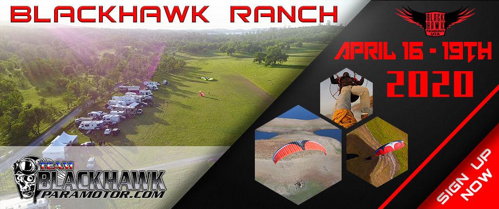 BlackHawk Paramotor Ranch 2020 April Fly In Registration