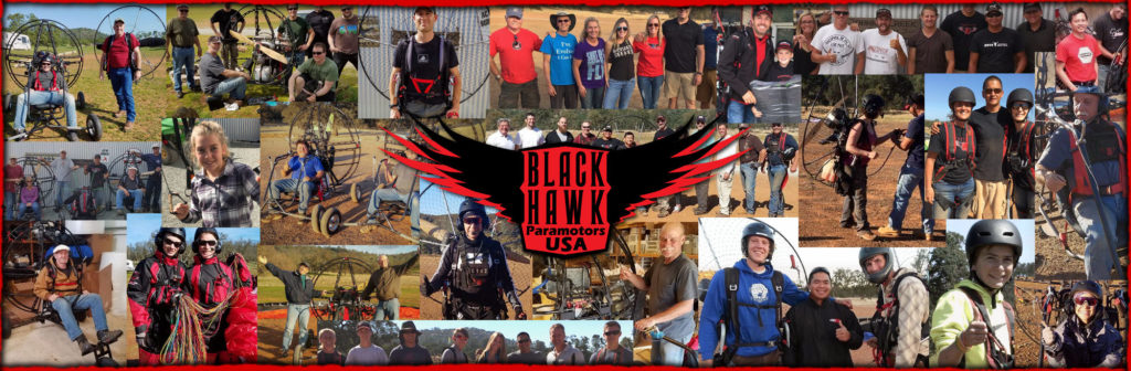 Paramotor Lessons With BlackHawk Paramotors USA