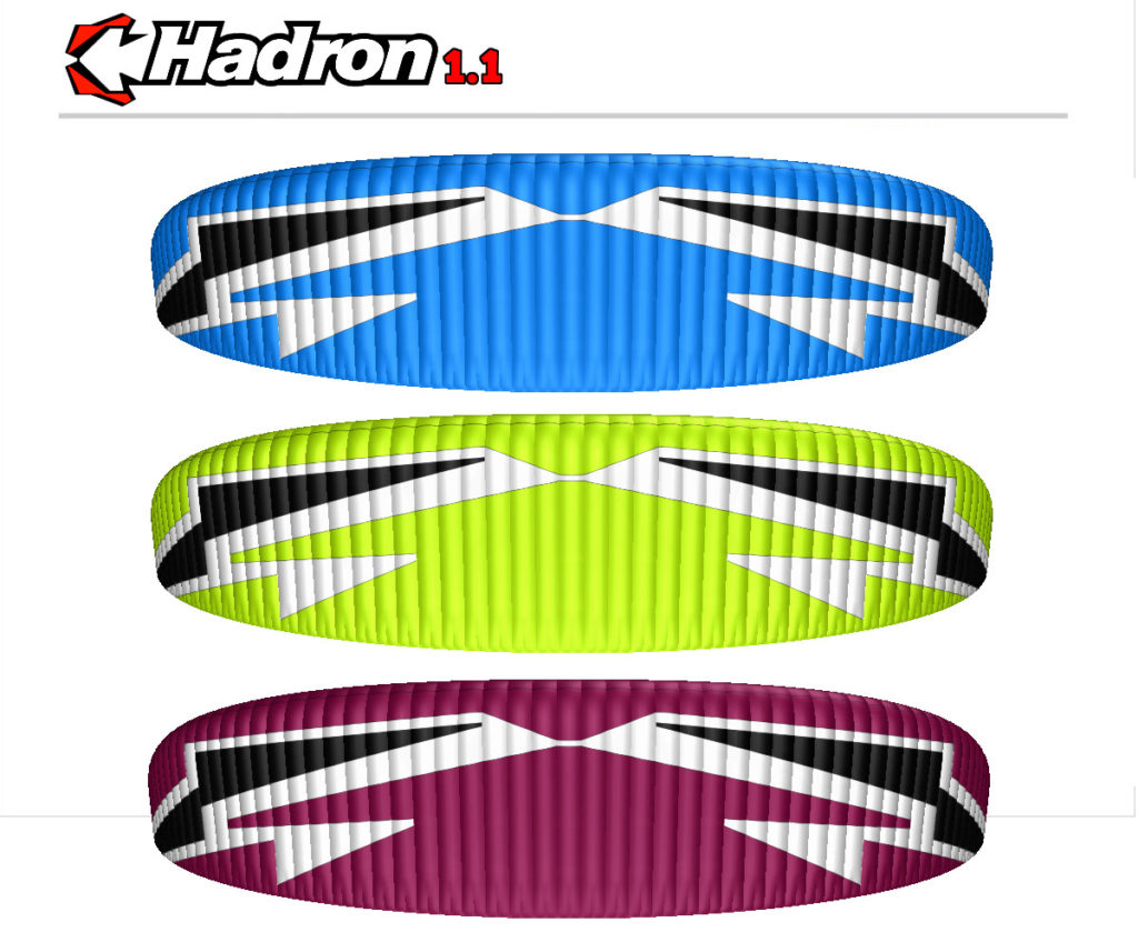 Dudek Hadron 1.1 Paraglider COLOR OPTIONS