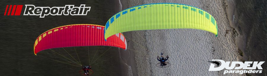 Dudek ReportAir Paraglider For Powered Paragliding & Paramotors