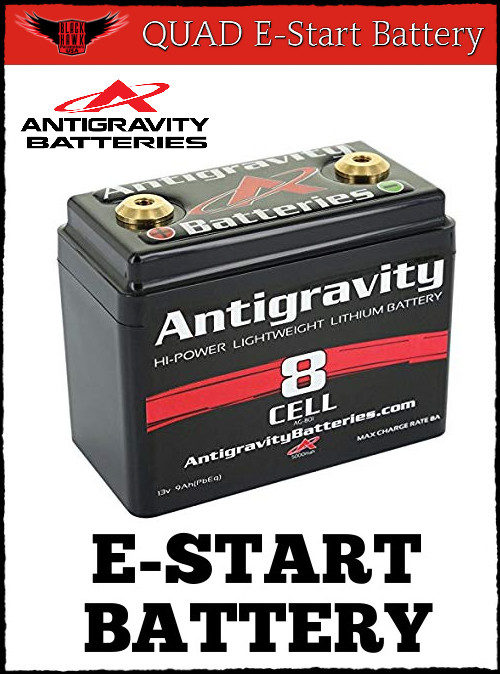 Electric Start Paramotor Battery For BlackHawk Quad Flight
