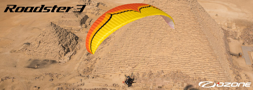 Ozone Roadster 3 Paraglider For Paramotor & Powered Paragliding Online Store