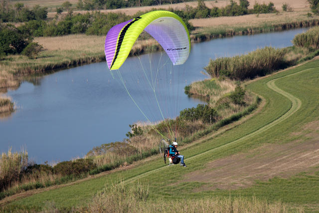 Ozone Sirocco Paraglider For Powered Paragliding & Paramotor Flight