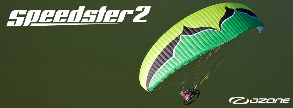 Ozone Speedster 2 Paraglider For Paramotor & Powered Paragliding