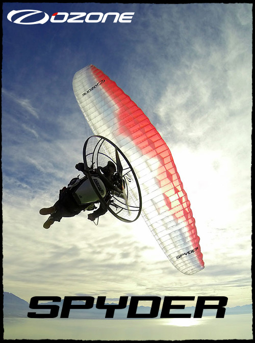 Ozone Spyder Paraglider