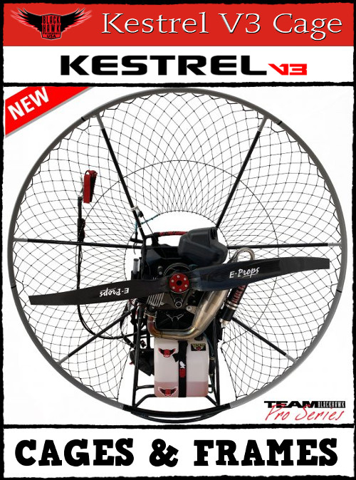 BlackHawk Paramotor Kestrel V3 Cage Frame