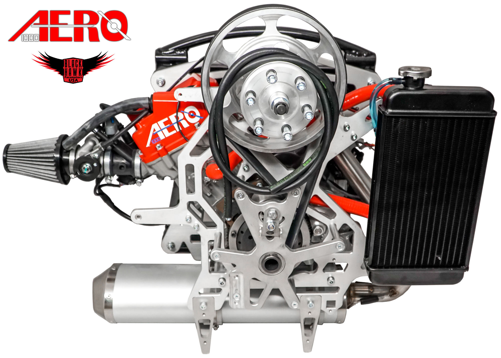 BlackHawk Aero 1000 4-Stroke Package Deal