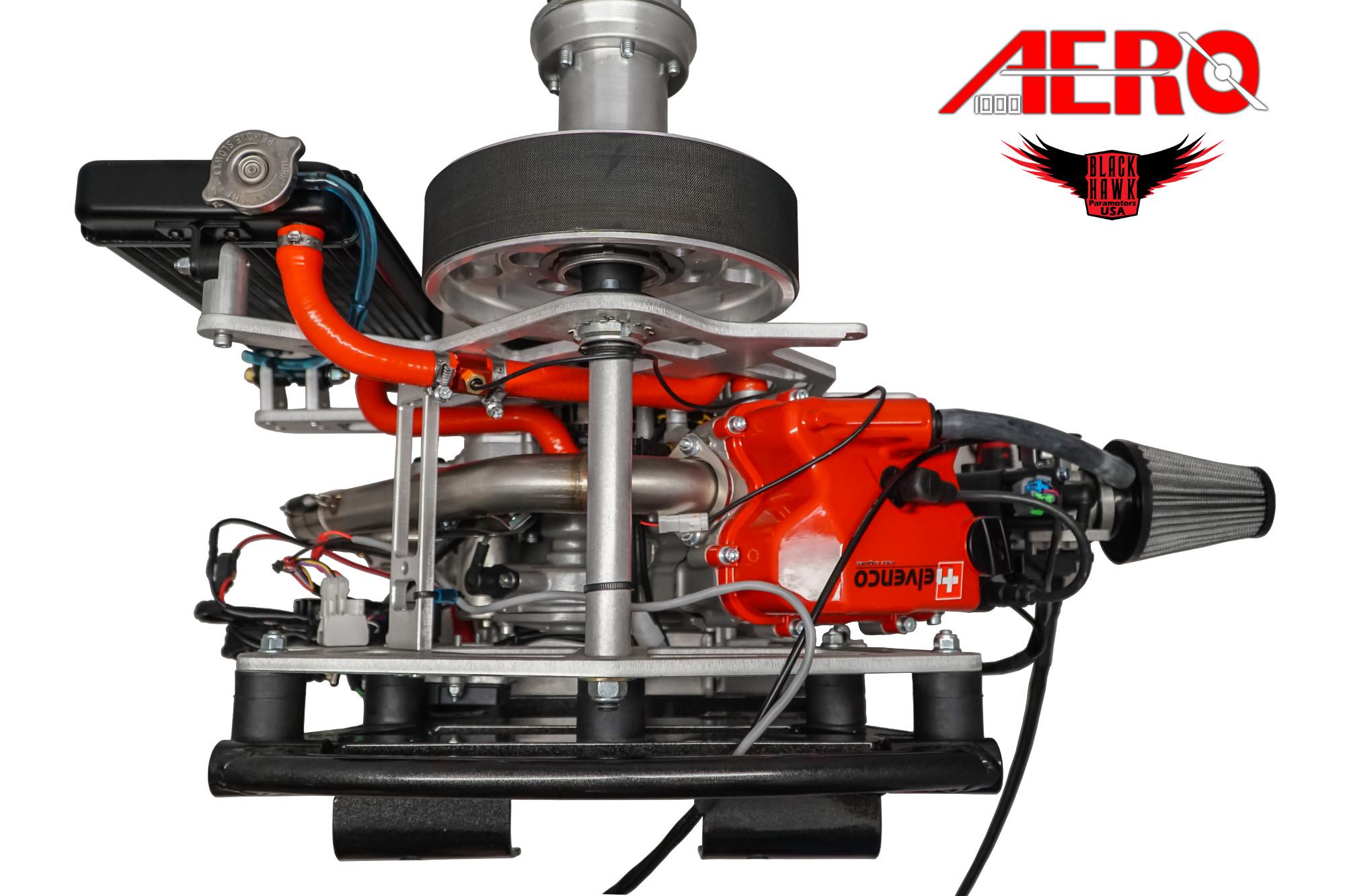 Aero 1000 4 Stroke Paramotor BlackHawk NEW 2019