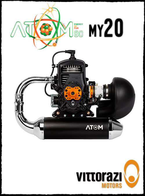 Vittorazi Atom 80 My 20 Paramotor Engine