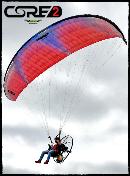 Velocity BlackHawk Paramotor Core 2 Paraglider Store